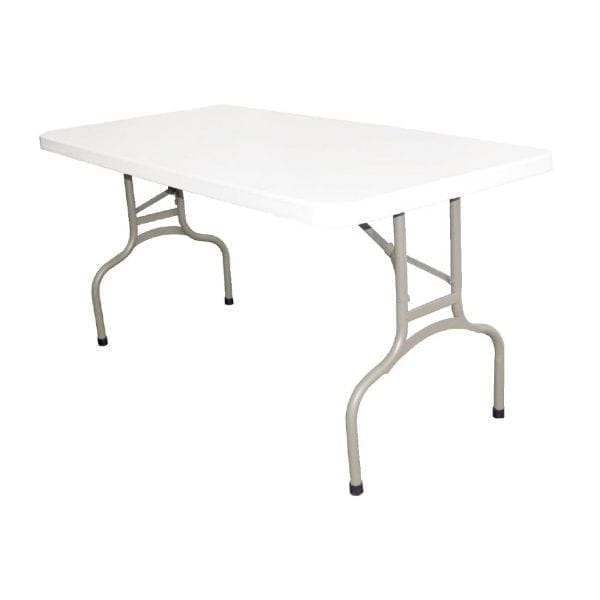 Bolero Foldaway Utility Table - 5ft Long-0