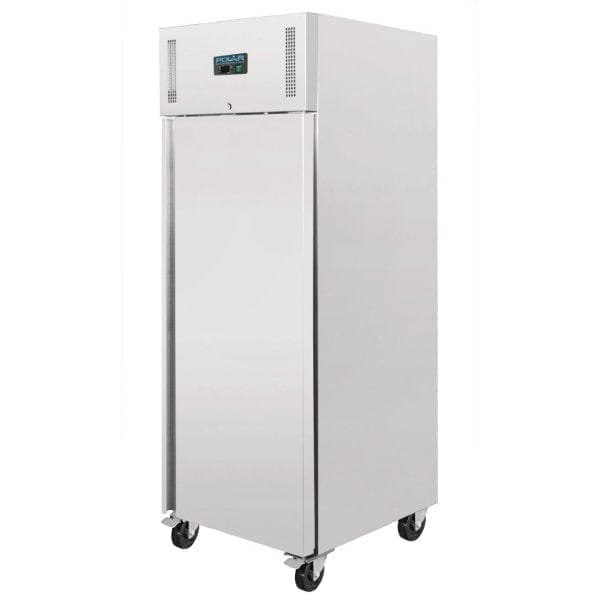 Polar Single Solid Door FREEZER St/St - 650Ltr (UK)-0