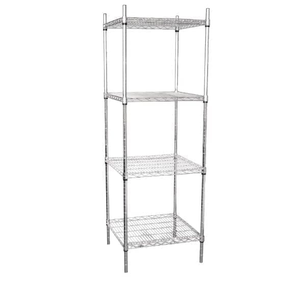 Vogue Tower Display Unit 4 Shelves - 1830(H)x610(W)x610(D)mm-0