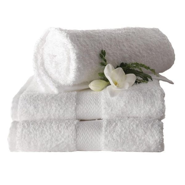 Hand Towel 500g 500x900mm White (Pack 6)
