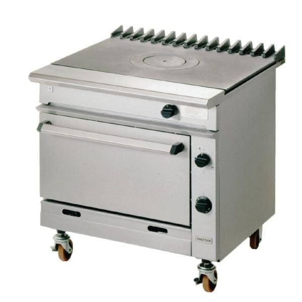 Falcon Chieftain Single Bullseye Oven Range Natural Gas (Direct)-0