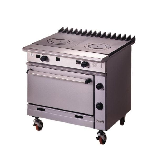 Falcon Chieftain Twin Bullseye Oven Range LPG (Direct)-0