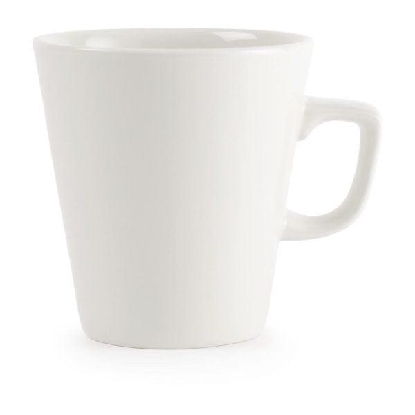 White Cafe Latte Mug - 16oz (Box 6)-0