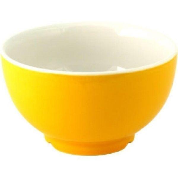 Snack Attack Yellow Soup Bowl 19oz (Box 6) (Direct)-0