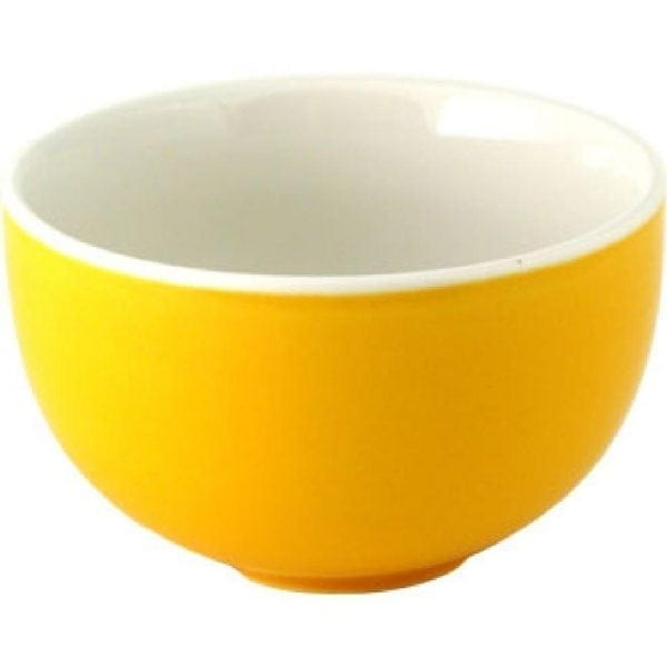 Snack Attack Yellow Small Soup Bowl 10oz (Box 24) (Direct)-0