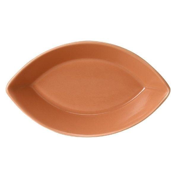 Terracotta Eclipse Dish (Box 12) (Direct)-0