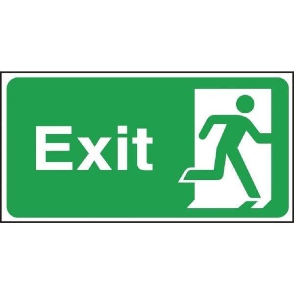 Exit Sign - 150x00mm-0