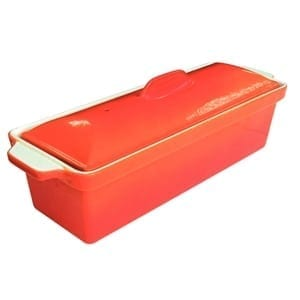 Vogue Pate Terrine Orange - 1.7Ltr 110x340x105mm-0