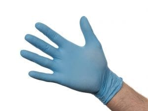 Nitrile Gloves - Powder Free Blue - Extra Large - Box 100