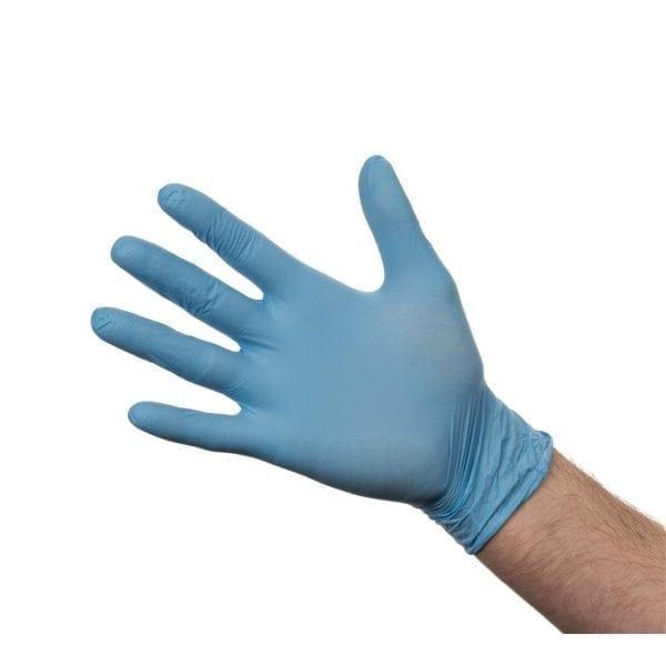 Nitrile Gloves - Powder Free Blue - Extra Large - Box 100