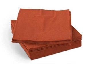 Napkins Terracotta 33cm 2ply - Box 2000 -0