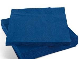 Napkins Dark Blue 33cm 2ply - Box 2000 -0