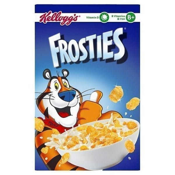 Kelloggs Frosties - 40 x 35g Pack 1