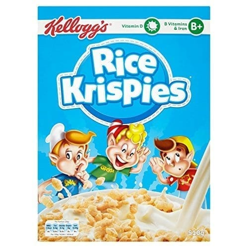 Kelloggs Rice Krispies - 40 x 22g Pack 1