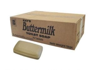 Buttermilk Soap Bar Tablet from Kays 70g-0