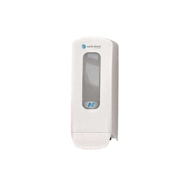 north shore foaming soap dispenser white