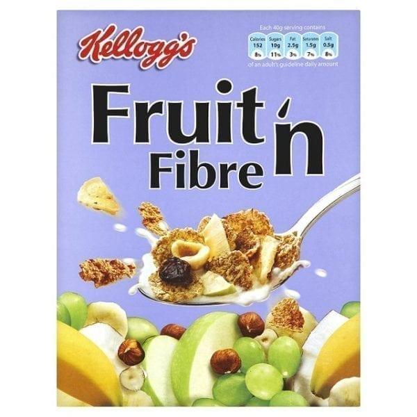 Kelloggs Fruit & Fibre 45g Carton 40's-0