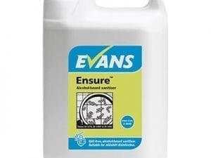 Evans - ENSURE Alcohol Sanitiser - 5 litre