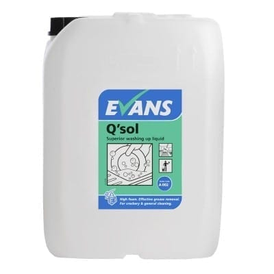 Evans - QSOL Washing Up Liquid - 20 litre
