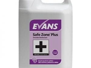 Evans - SAFE ZONE PLUS Virucidal Disinfectant Cleaner - 5 litre