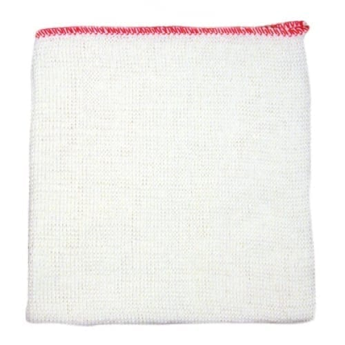 Dishcloths Red Edged - 10 Pack-0