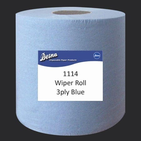 Barrell Roll Blue 3ply - 380m - Each-0