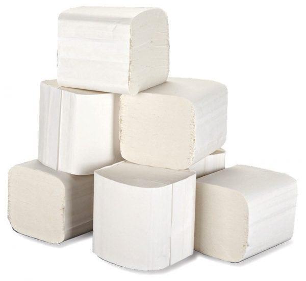 Bulk Pack Toilet Tissue 2ply White - 36 Pack