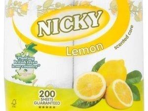 Nicky Lemon Kitchen Rolls 2ply - 16 Pack