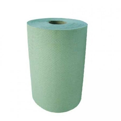 Roll Towels 1ply Green - 16 Pack - Embossed