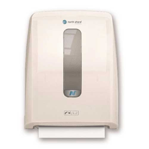 North Shore Hands Free Hand Towel Dispenser - White