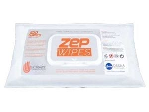 Desna Zepwipe Waterless Hand Wipes 100's