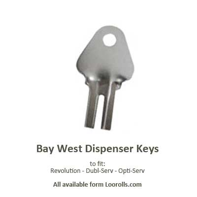 Bay West Dispenser Key