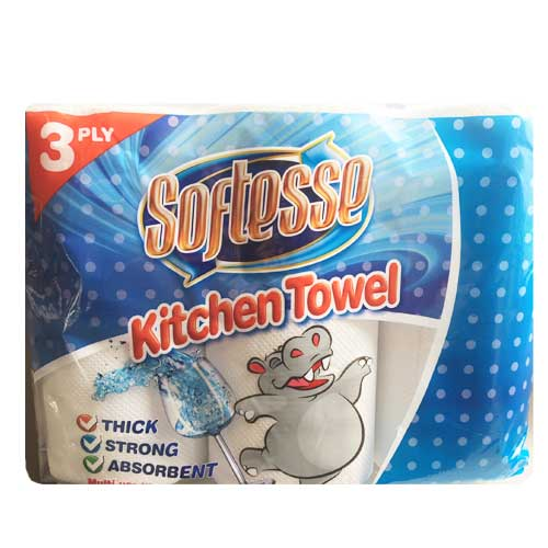 Softesse 3ply Kitchen Roll - 8 x 3 Pack