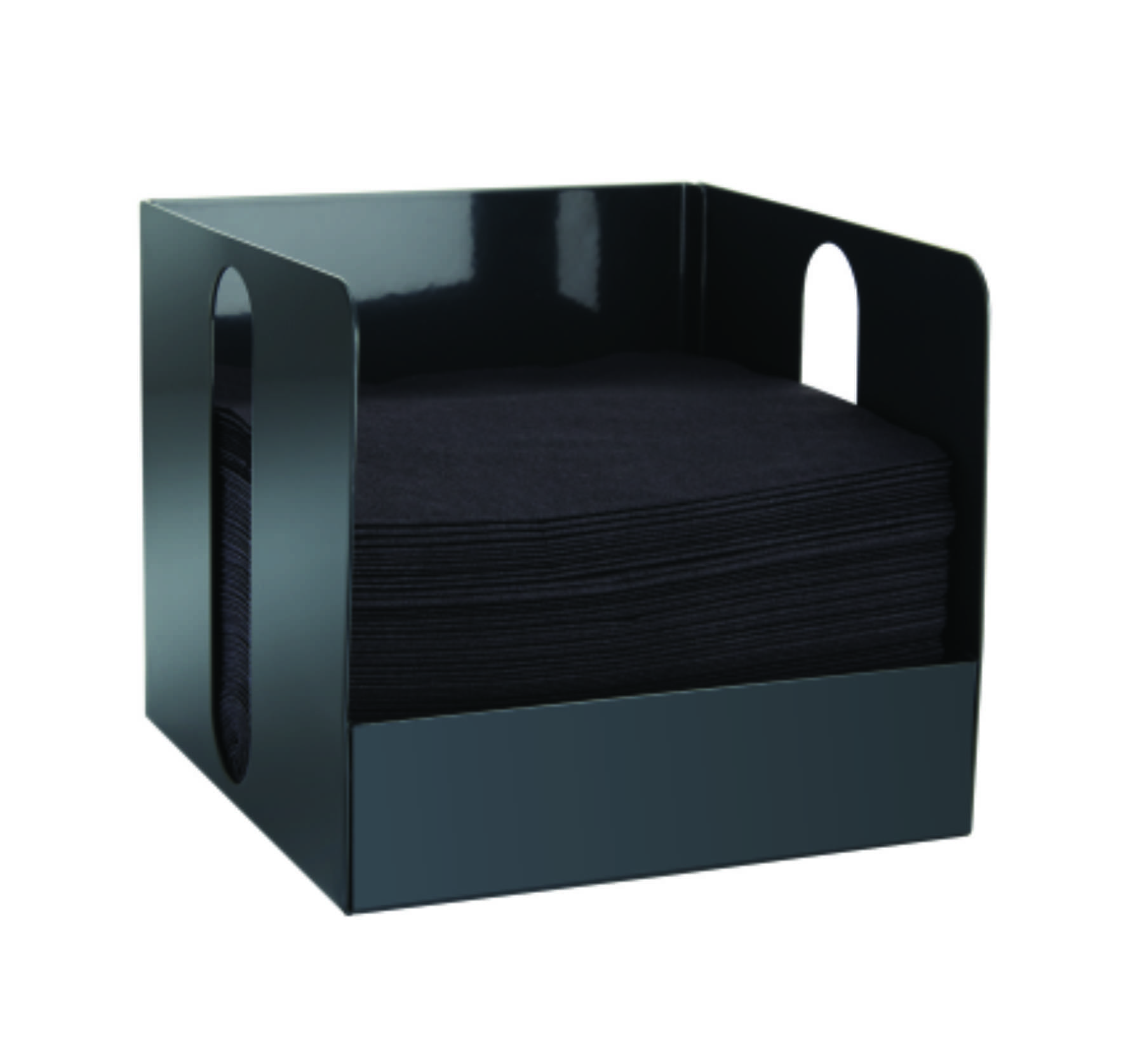 Graphite Grey Cocktail Napkin Holder , CNAPMGY