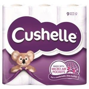 Cushelle Toilet Rolls - 2ply White - 45 Pack 1