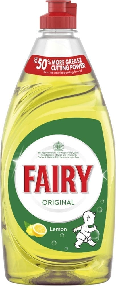 Fairy Washing Up Liquid Lemon - 433ml - Box 10 1
