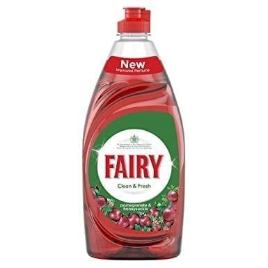 Fairy Washing Up Liquid Pomegranate - 433ml - Each 1