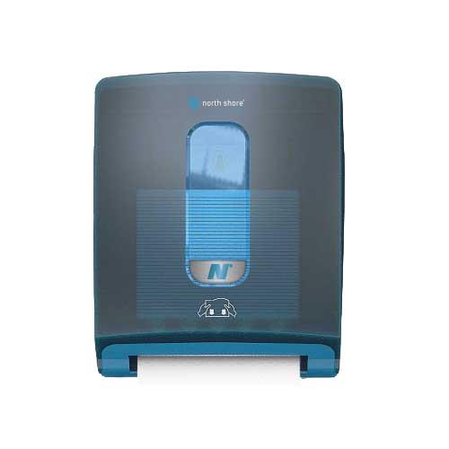 North Shore Microfold Towel Dispenser blue