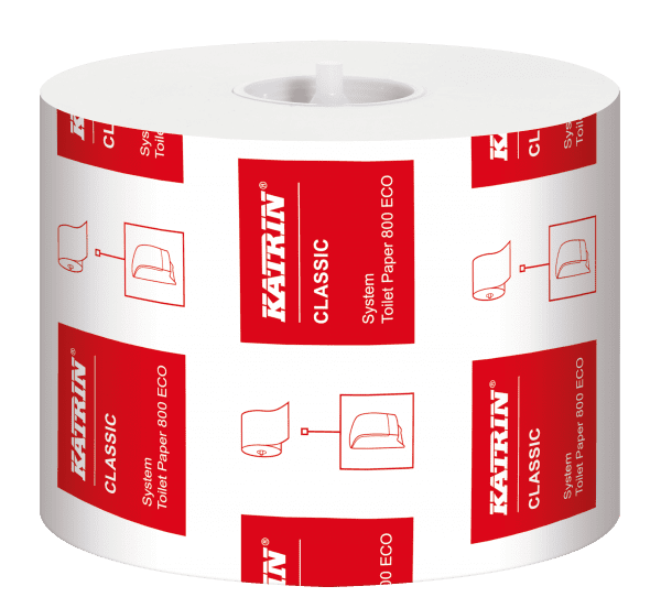 Katrin Classic Eco Toilet Rolls 800 sheet - Box 36 1
