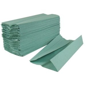 c_fold_green_paper_towels-loorollscom