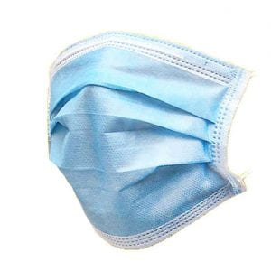 3ply disposable face mask 50 pack