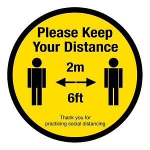 Health-and-safety-culture-post-COVID-19-social-distance-signs-labels-equipment