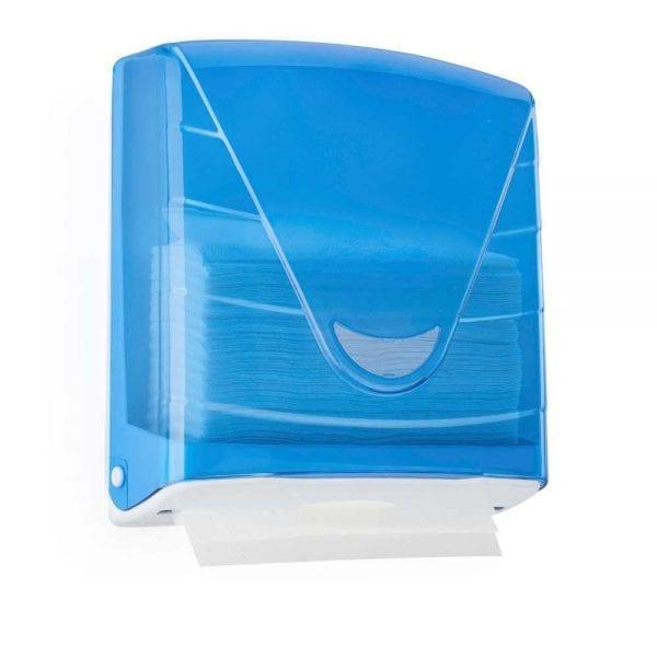 Blue Paper Hand towel Dispensers